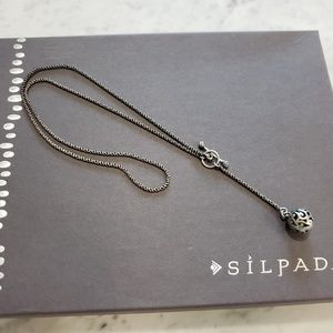 SILPADA N1619 SS Toggle Necklace